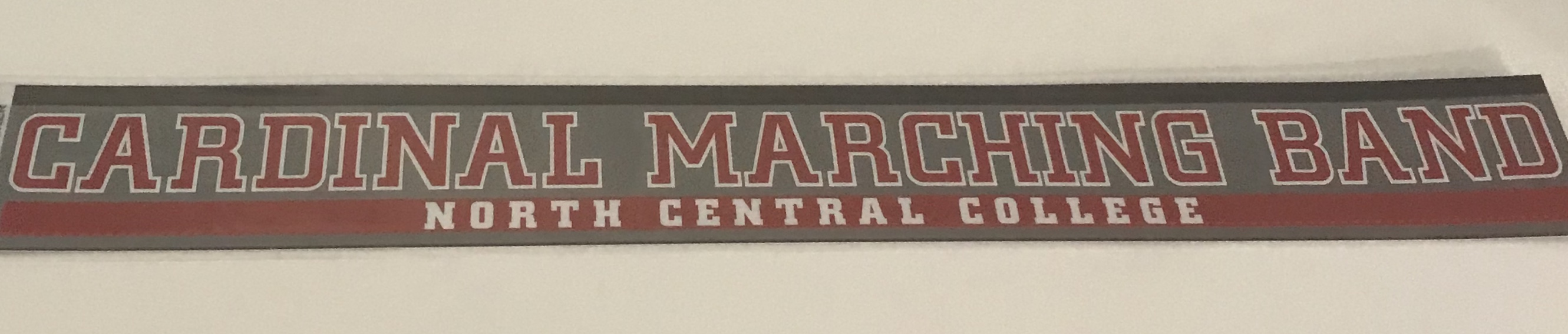 Image for the North Central College Marching Band Decal (ColorShock) product