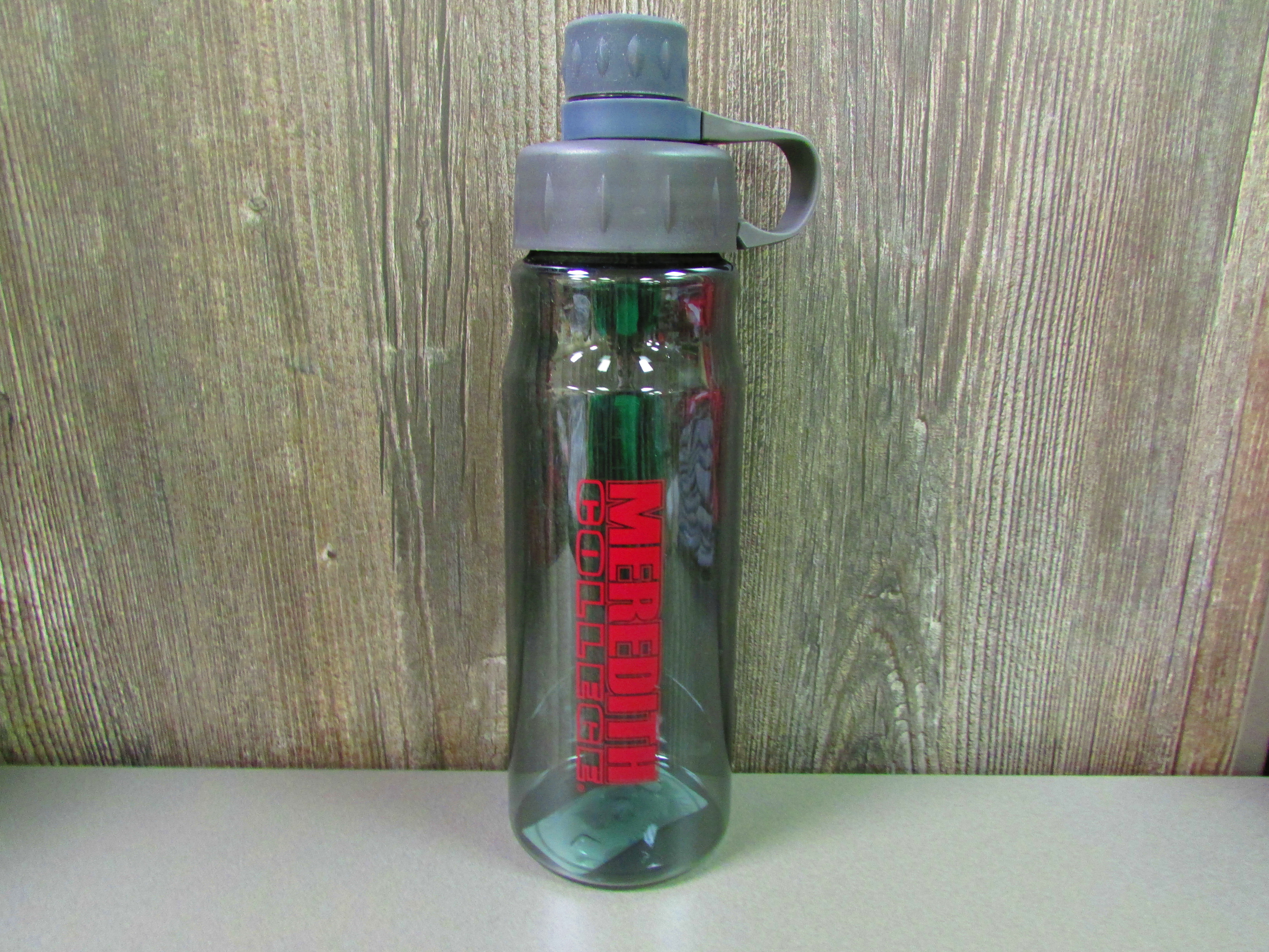 Image for the Water Bottle, Meredith College, Maroon FN logo, 28 oz. product