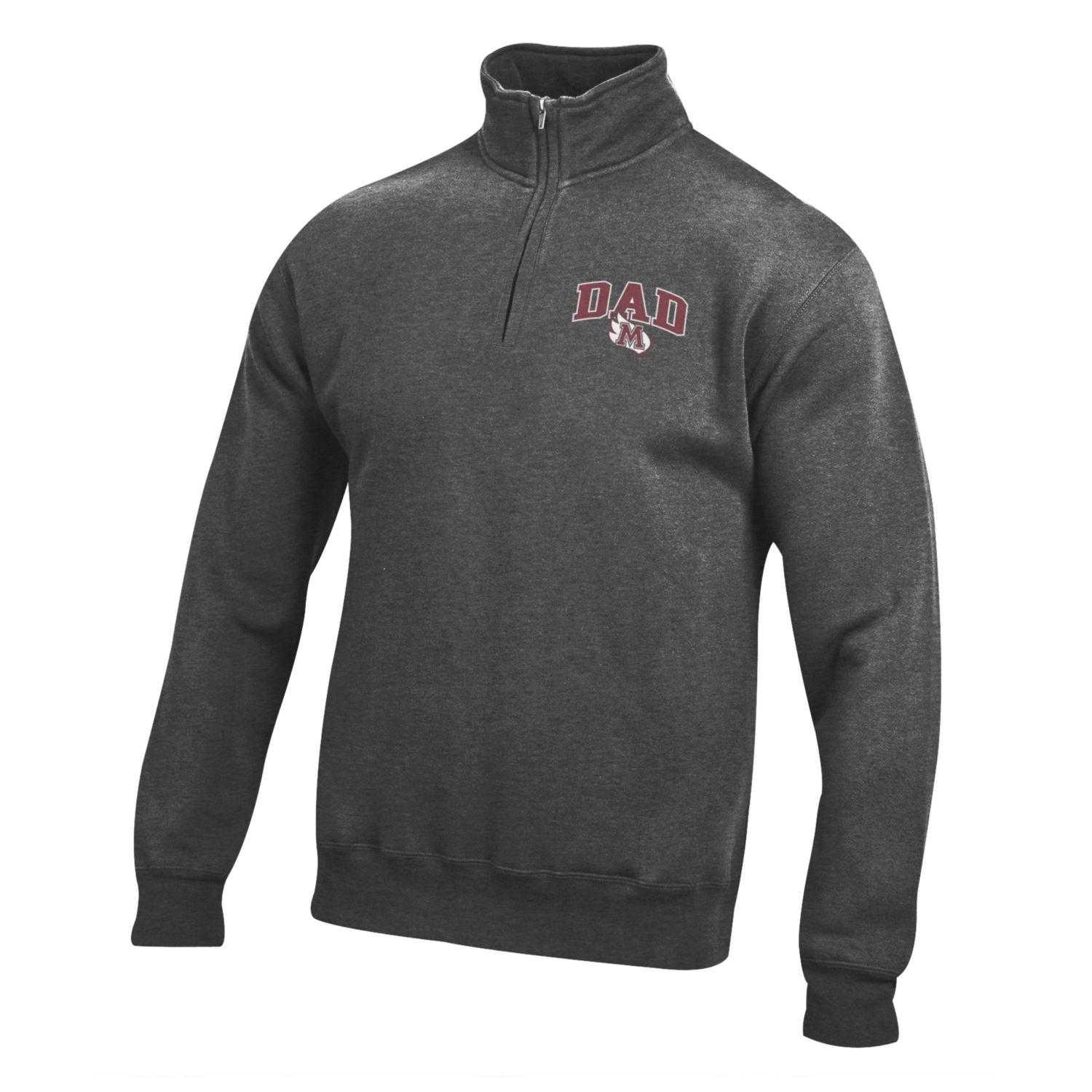 Image for the Dad 1/4 Zip, Charcoal Heather product
