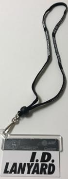 Image for the Shoelace Lanyard With ID Holder product