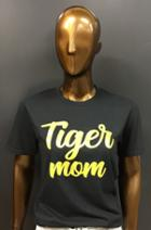 Image for the Tiger Mom/Grandma T-Shirt, Heather Graphite Anvil, Collegiate Trends product