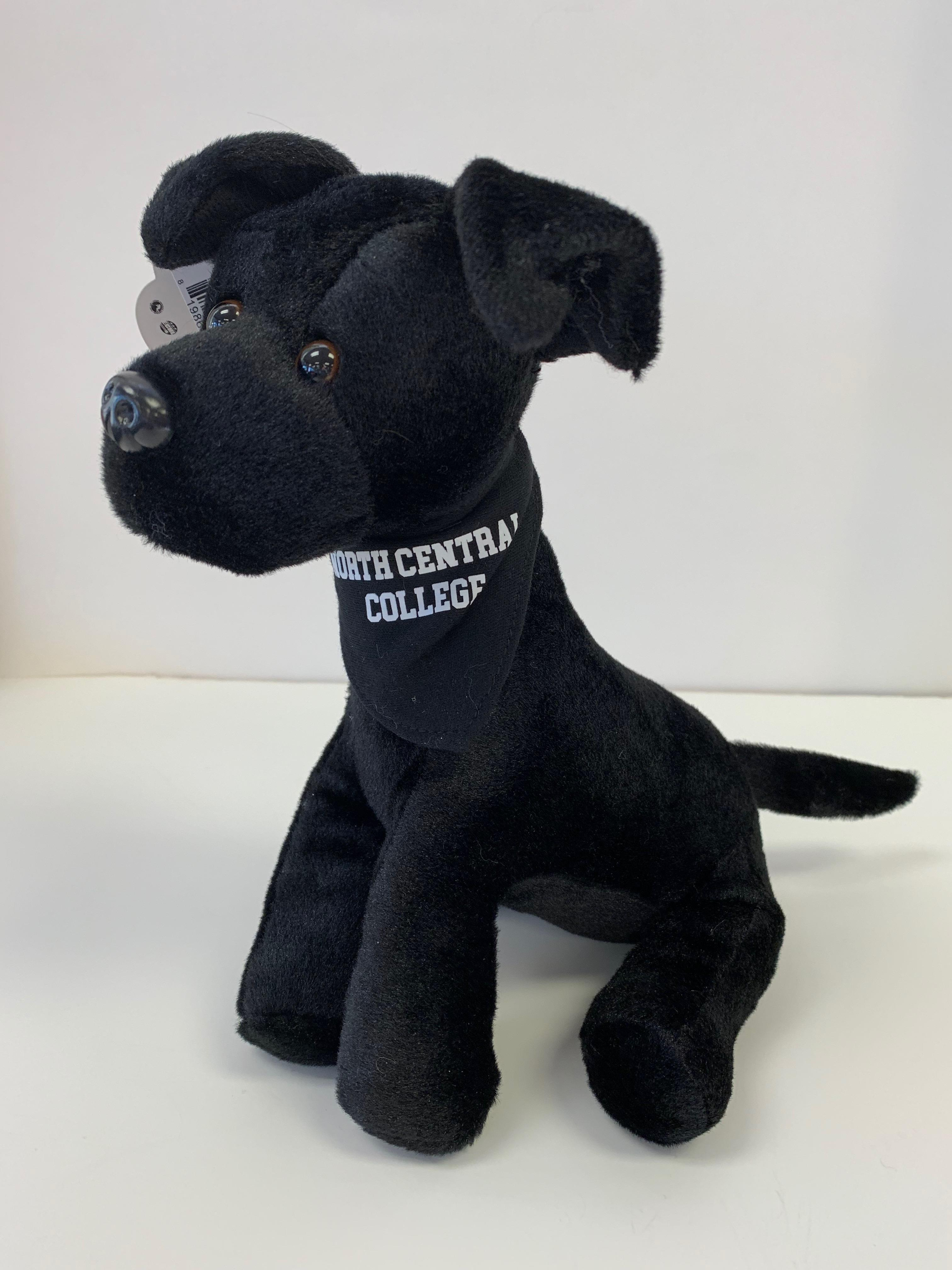 Image for the Mighty Tykes Plush Black Lab product