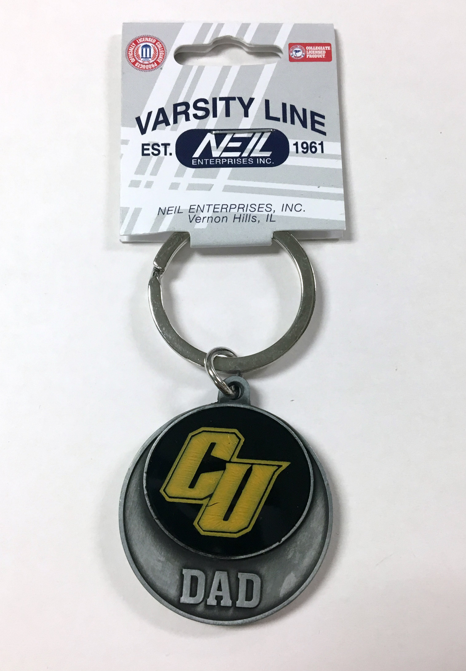 Alternative Image for the Keychain CU Mom, Dad or Alumni Neil product