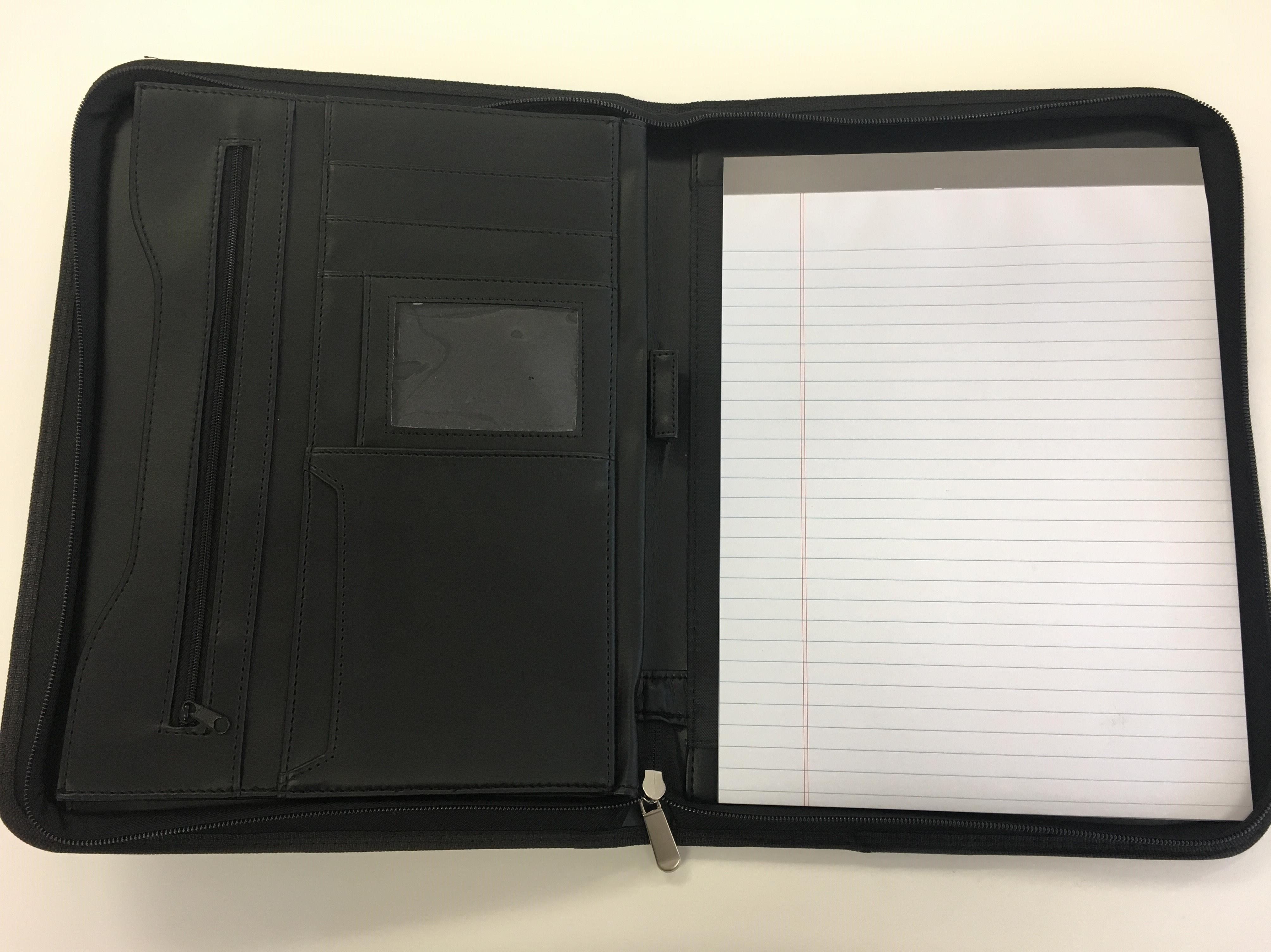 Alternative Image for the Zipper Student Padfolio product