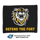Image for the 15x18 Cheering Section Rally Towel, Black, Spirit Products. product