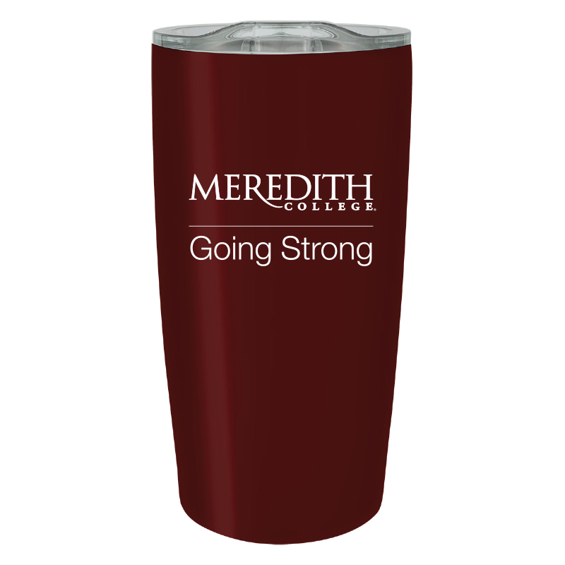Image for the Car Tumbler Maroon 20 oz., Going Strong product