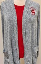 Image for the North Central College Women's Easy Fit Cardigan w/ pockets product
