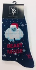 Image for the Beast Mode - Men's Holiday Crew Socks product