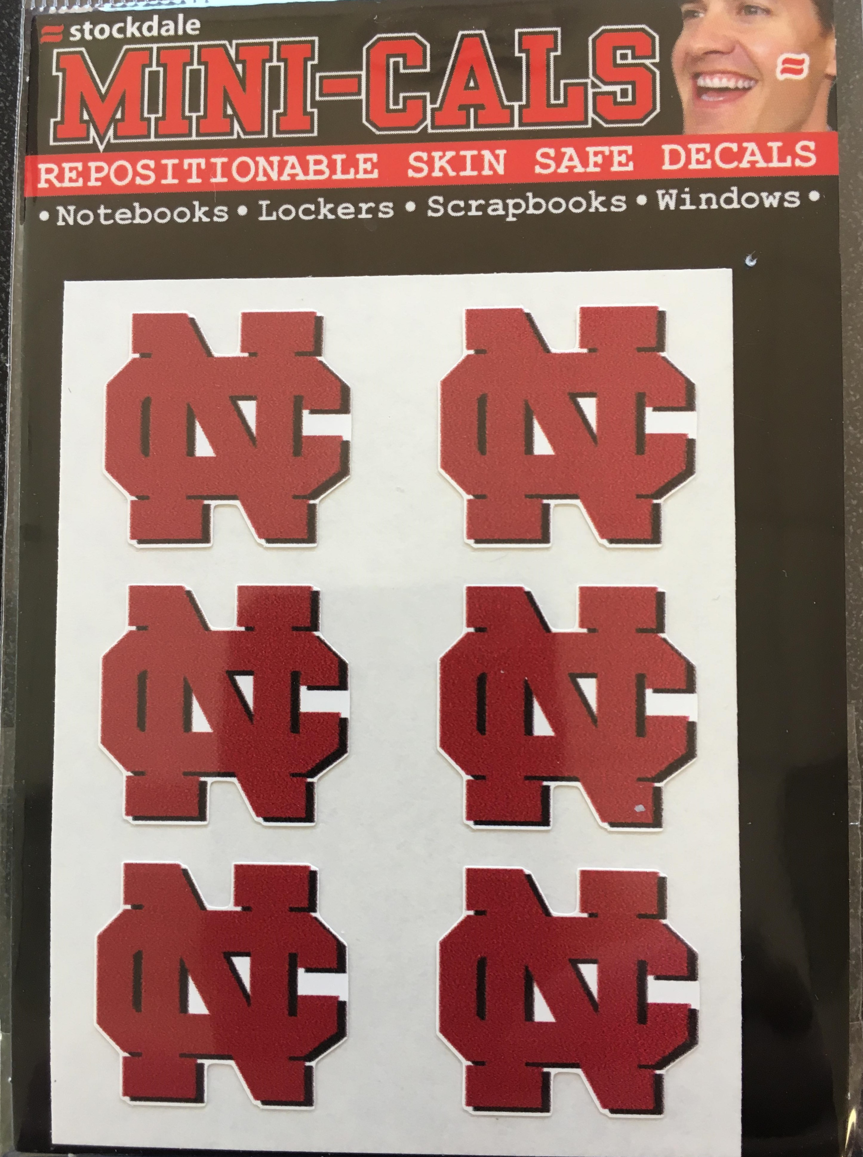 Image for the Mini-Cals Skin Safe Decals (Stockdale) product