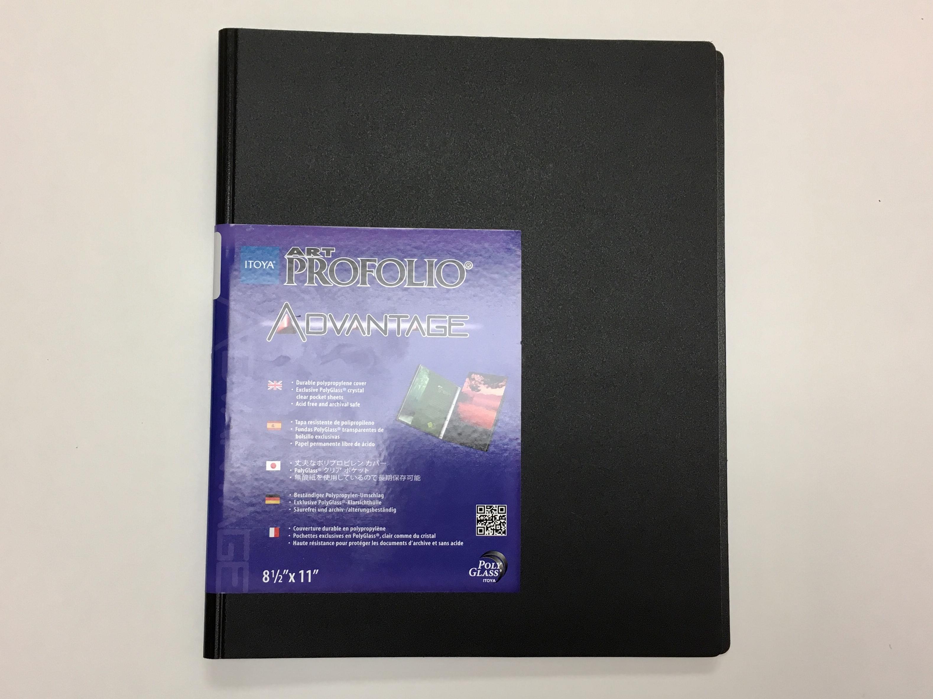 """Image for the ITOYA Art Profolio Advantage Black 8.5"""" x 11"""" product"""