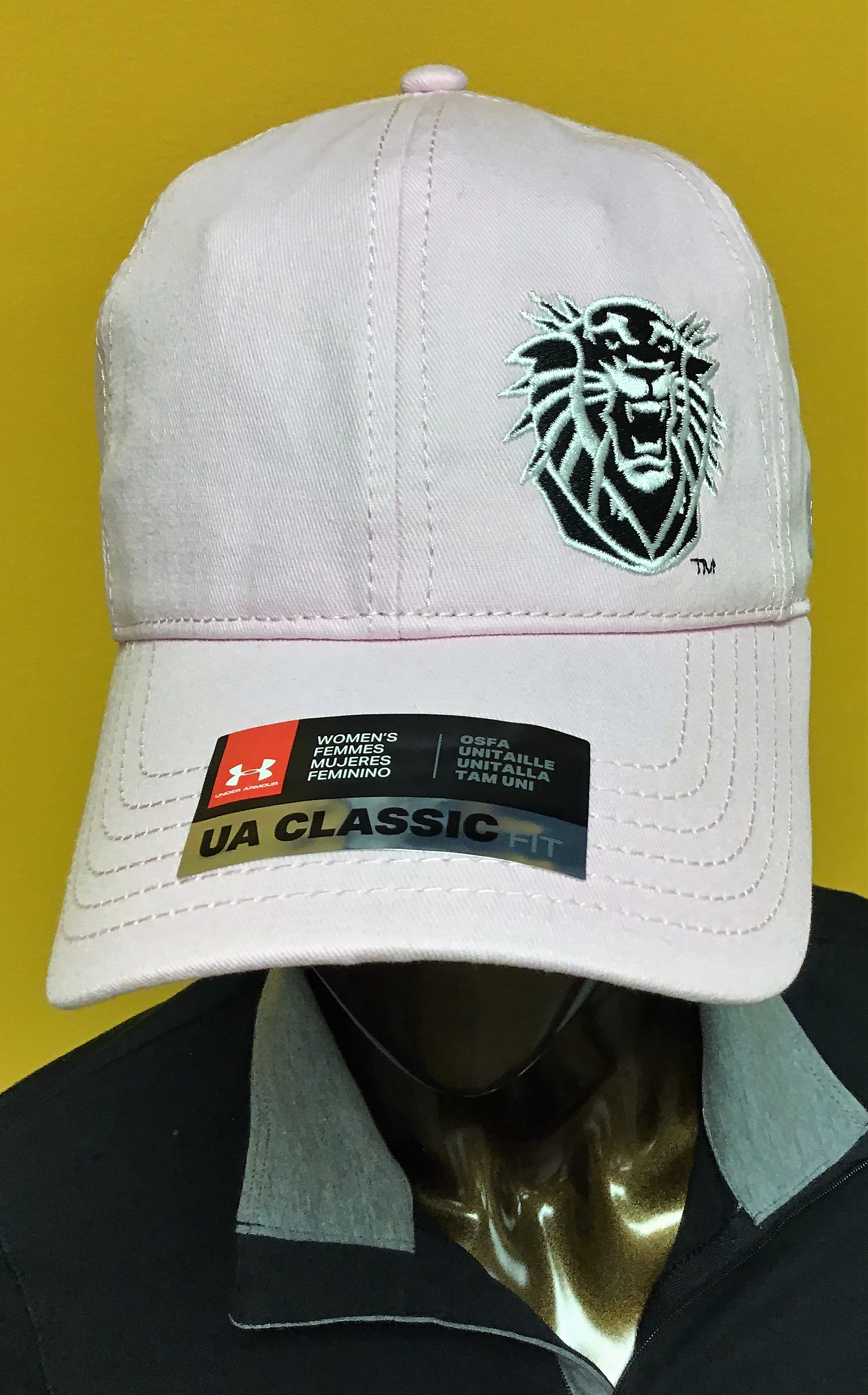 Image for the Women's Under Armour Hat Garment Washed Blithe Pink product