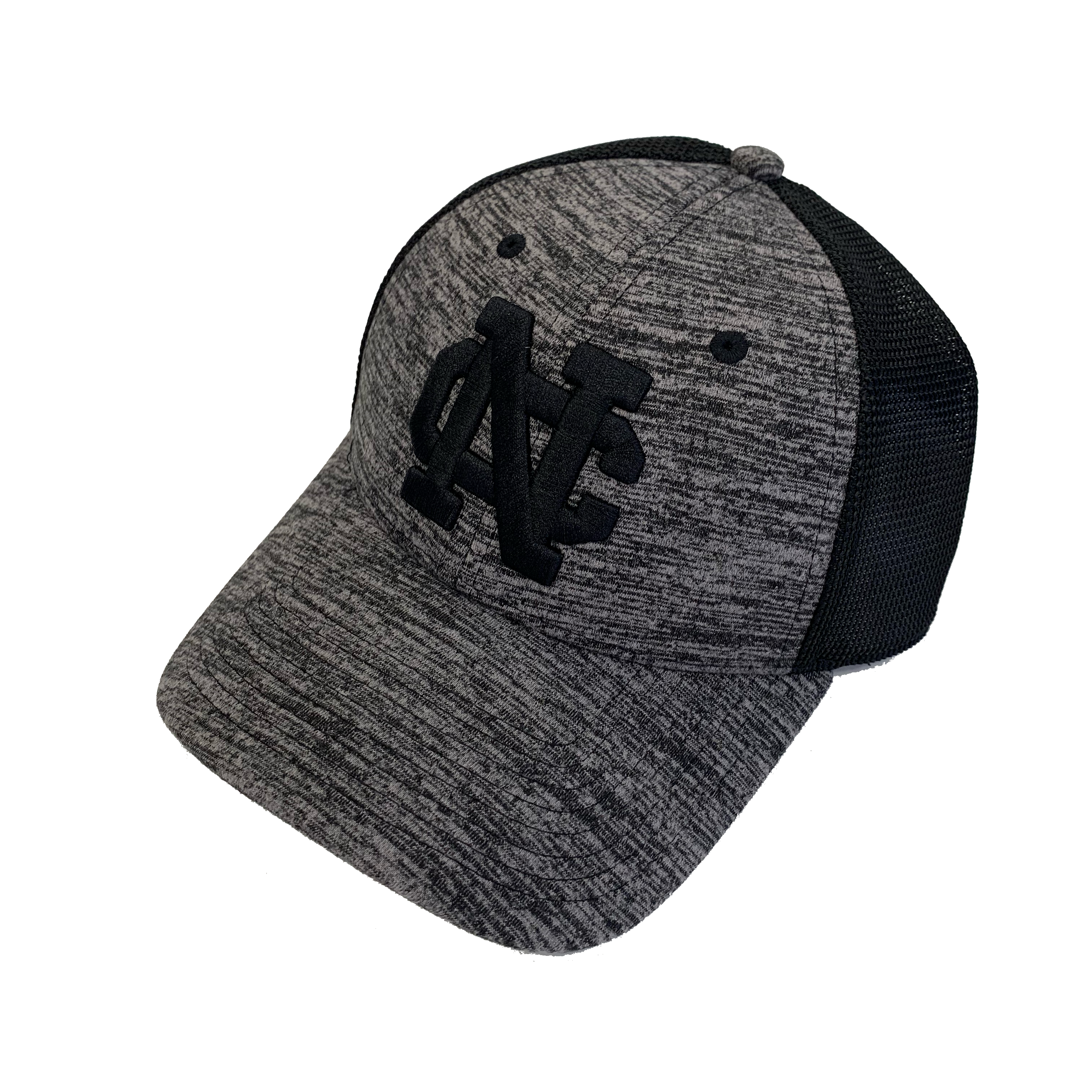 Image for the Black Heather w/ Mesh NC hat by  The Game product