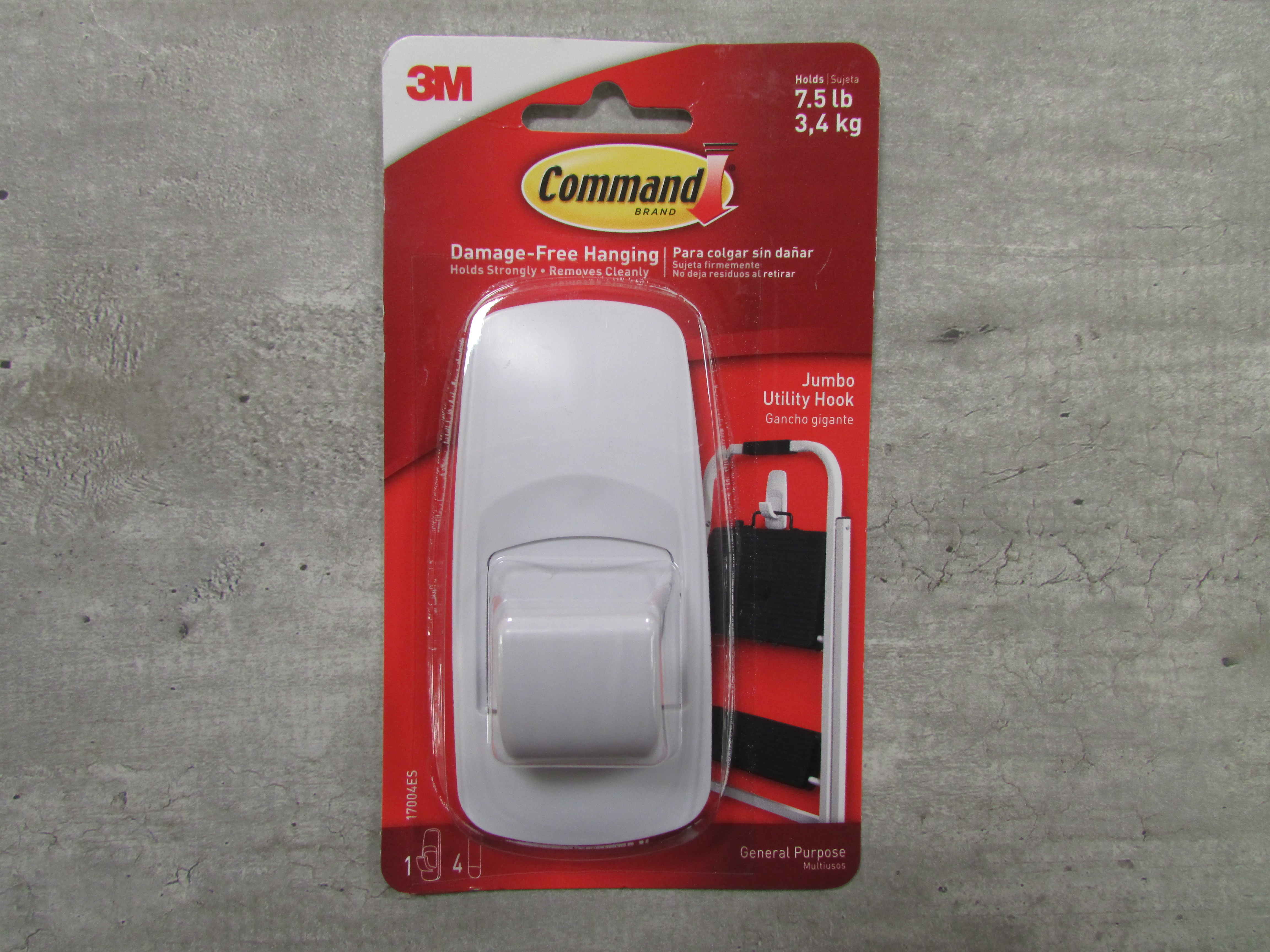 Image for the Hooks, Command, Adhesive White product