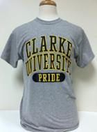 Image for the T-Shirt Gray Clarke Univ Pride MV product