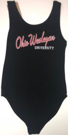 Image for the Ohio Wesleyan Black Body Suit product
