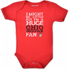 Image for the Red Infant Bodysuit product