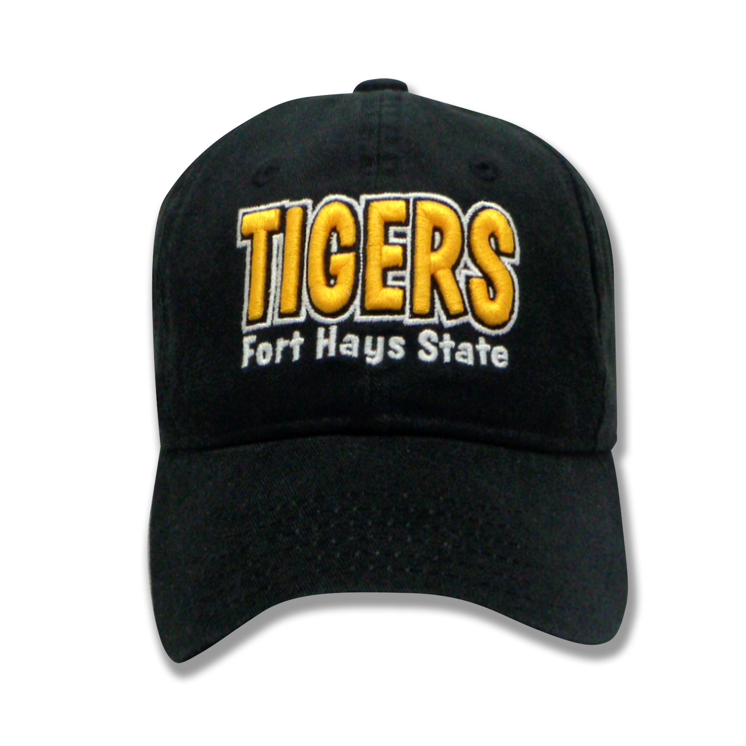Image for the Tigers Fort Hays State Youth Hat, Slide Buckle Closure, Black, The Game product
