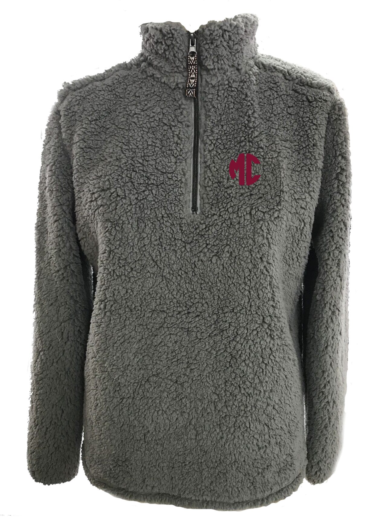 Image for the Sherpa Quarter Zip Charcoal MC Summit Sportswear product