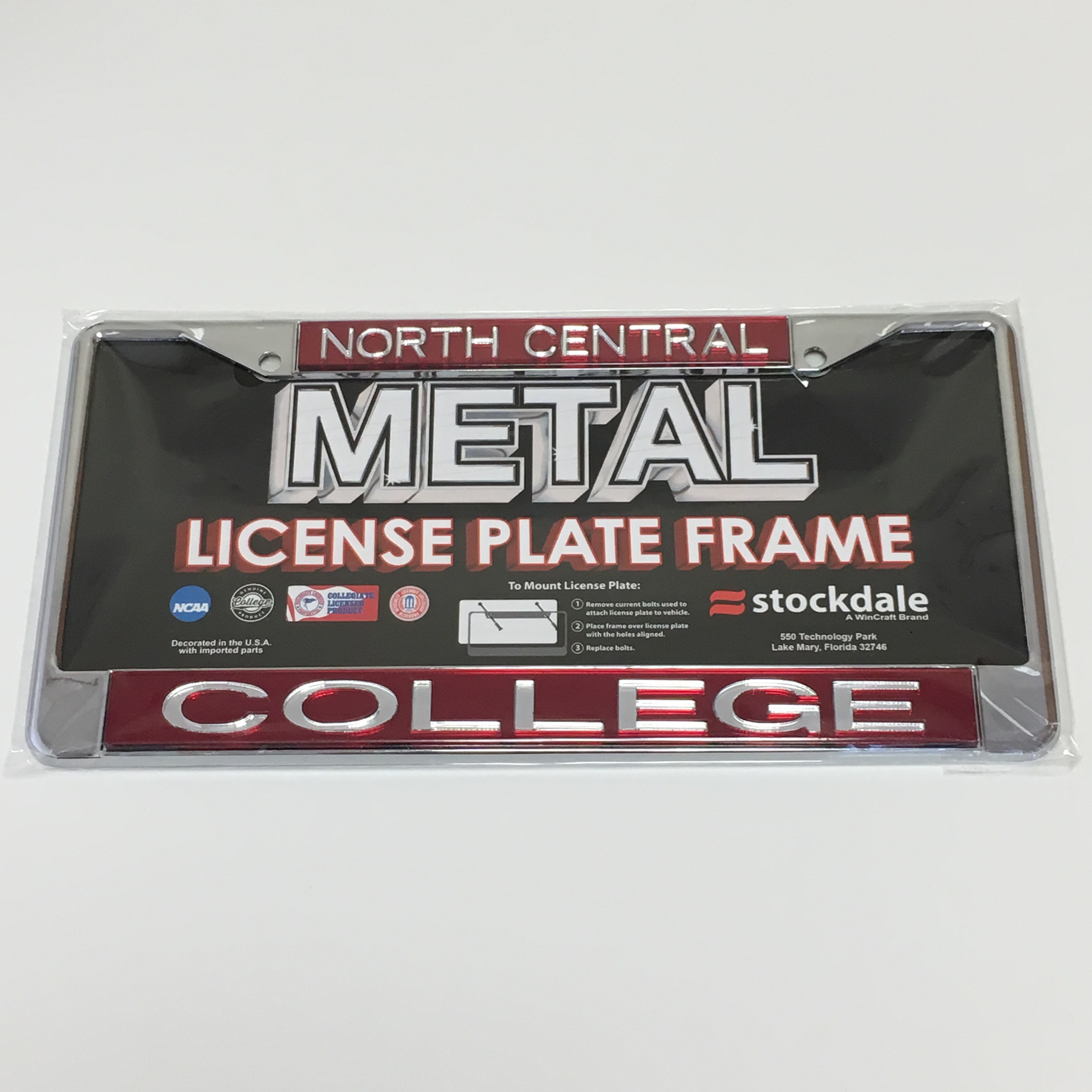 Image for the License Plate Frame Metal Acrylic product