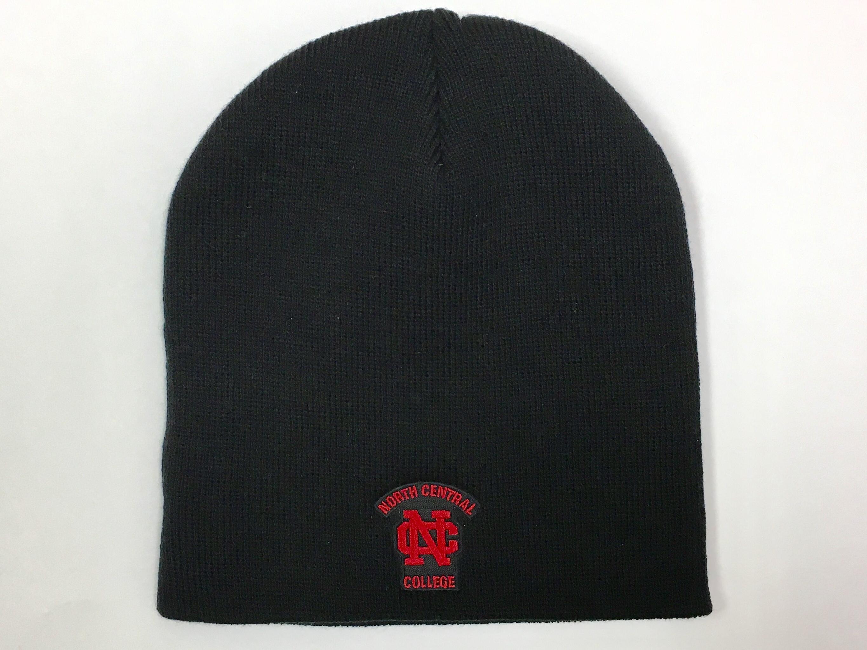 Image for the LogoFit Black Beanie Hat w/Logo product