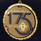 Image for the Ornament Metal Gold Commemorative product