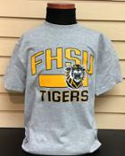 Image for the Youth T-Shirt Heather Gray FHSU Mascot product