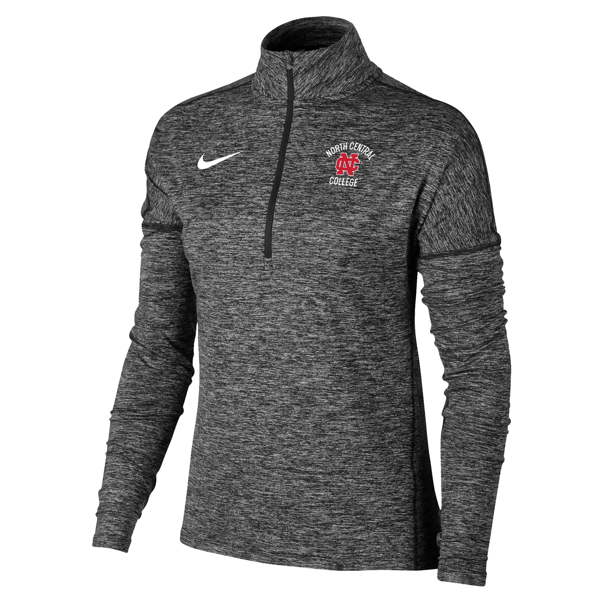 Image for the North Central College Women's Dry Element Heather 1/2 Zip by Nike product