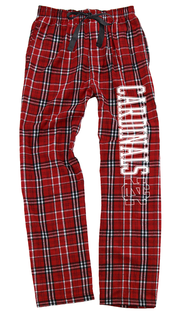 Image for the Flannel Pant Red/White Plaid by Boxercraft product