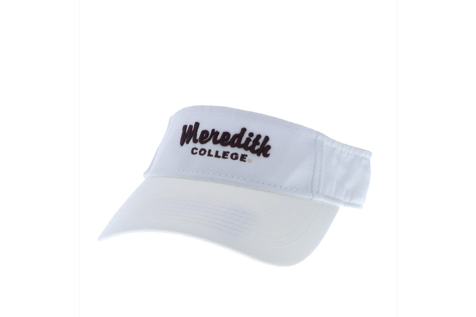 Image for the Relaxed Twill Visor Legacy Meredith College product