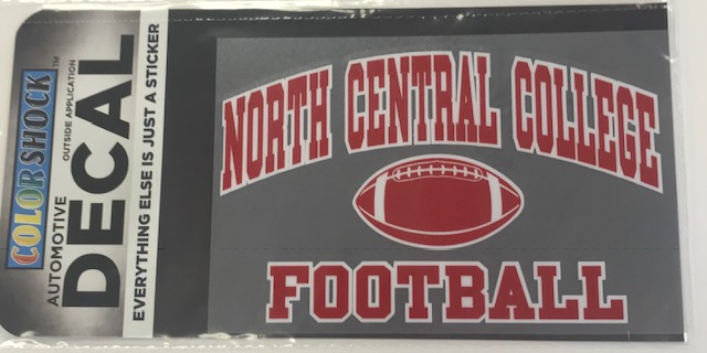 Image for the Football Decal (ColorShock) product