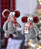 Image for the Fabric Mouse Design Ornament product