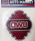 Image for the Small Quatrefoil OWU Magnet product