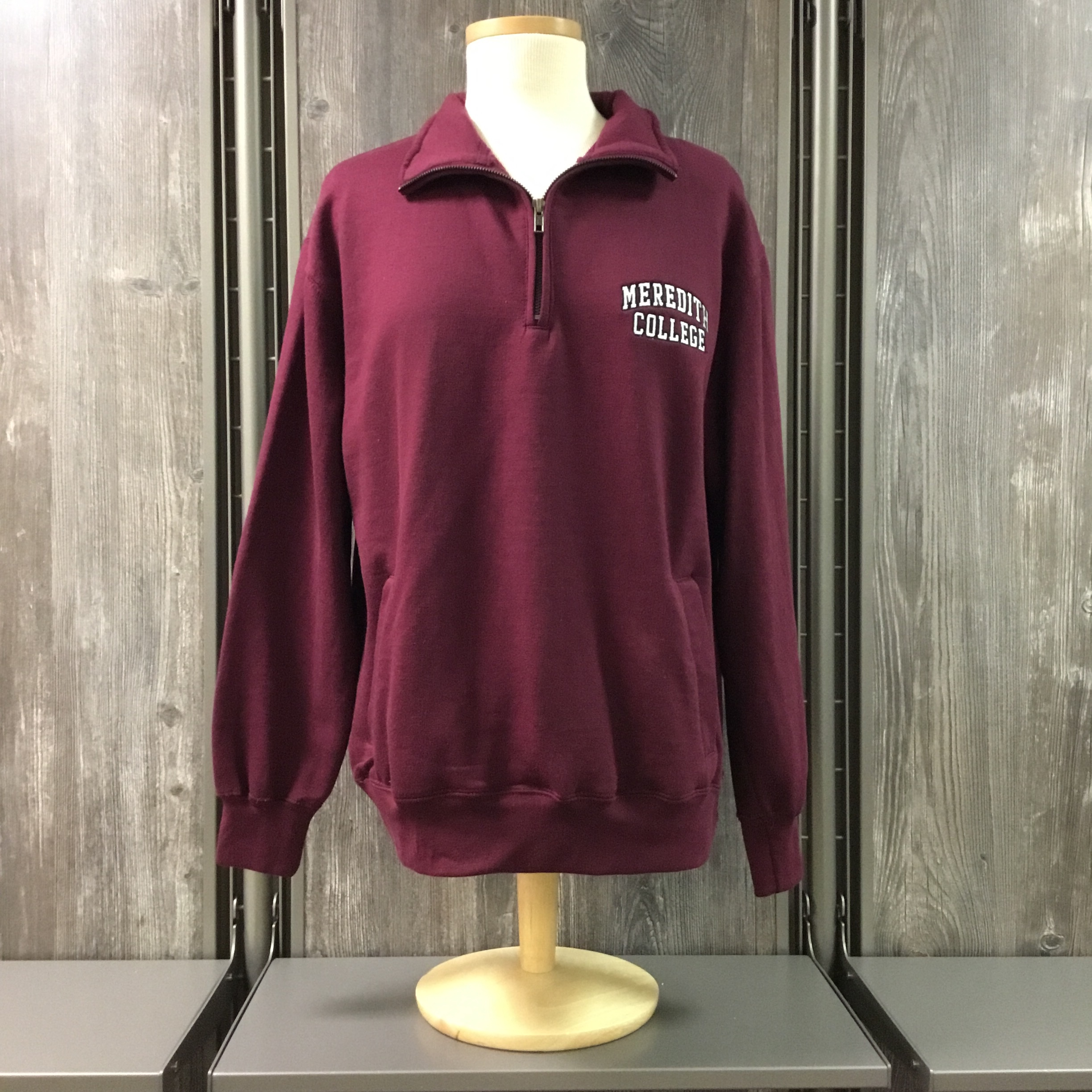 Image for the Classic Fleece Quarter zip Pullover MV product