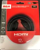 Image for the RCA HDMI 12ft. Black Cable product