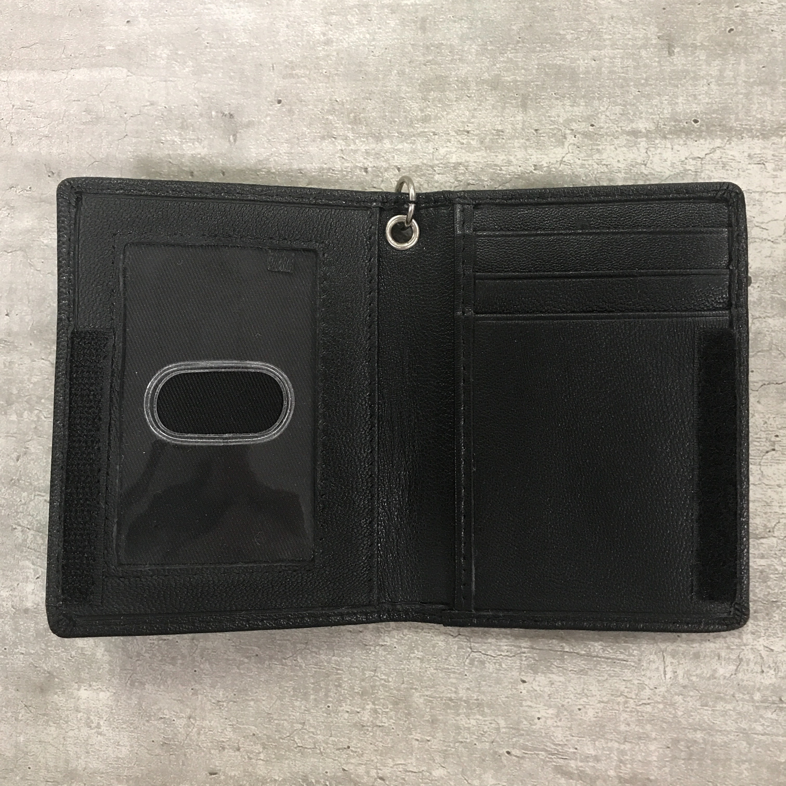 Alternative Image for the Leather ID Holder, Meredith College product