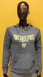 Image for the Hoodie Women's Sweatshirt Lounge Gray FHSU Tigers Champion product