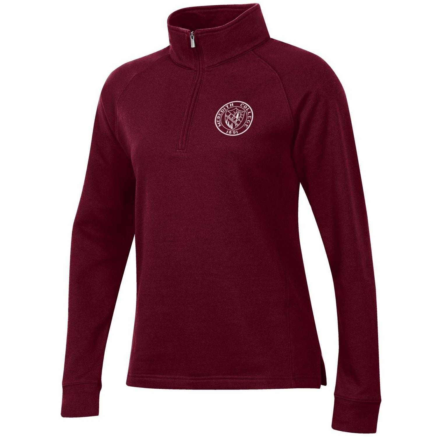 Image for the Women's Relax 1/4 Zip, Maroon product