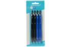 Image for the Ballpoint Pens, Retractable 0.7mm, 4/pk product