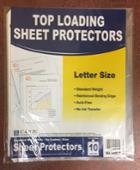 Image for the Top-Loading Sheet Protectors, Letter Size, Clear, 10-Pack, 05017, 015159770 product