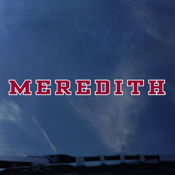 Image for the Decal, Meredith product