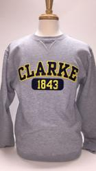 Image for the Sweatshirt, Appliqued with navy on gold felt product