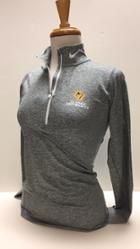 Image for the Nike 1/4 zip carbon grey pull-over, Dri-Fit product