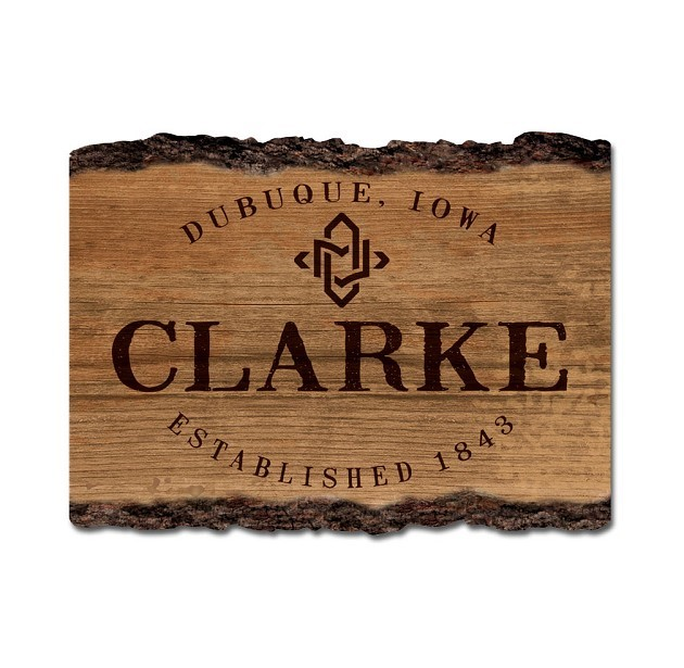 "Image for the Clarke Legacy 9""x12"" Barky Sign product"