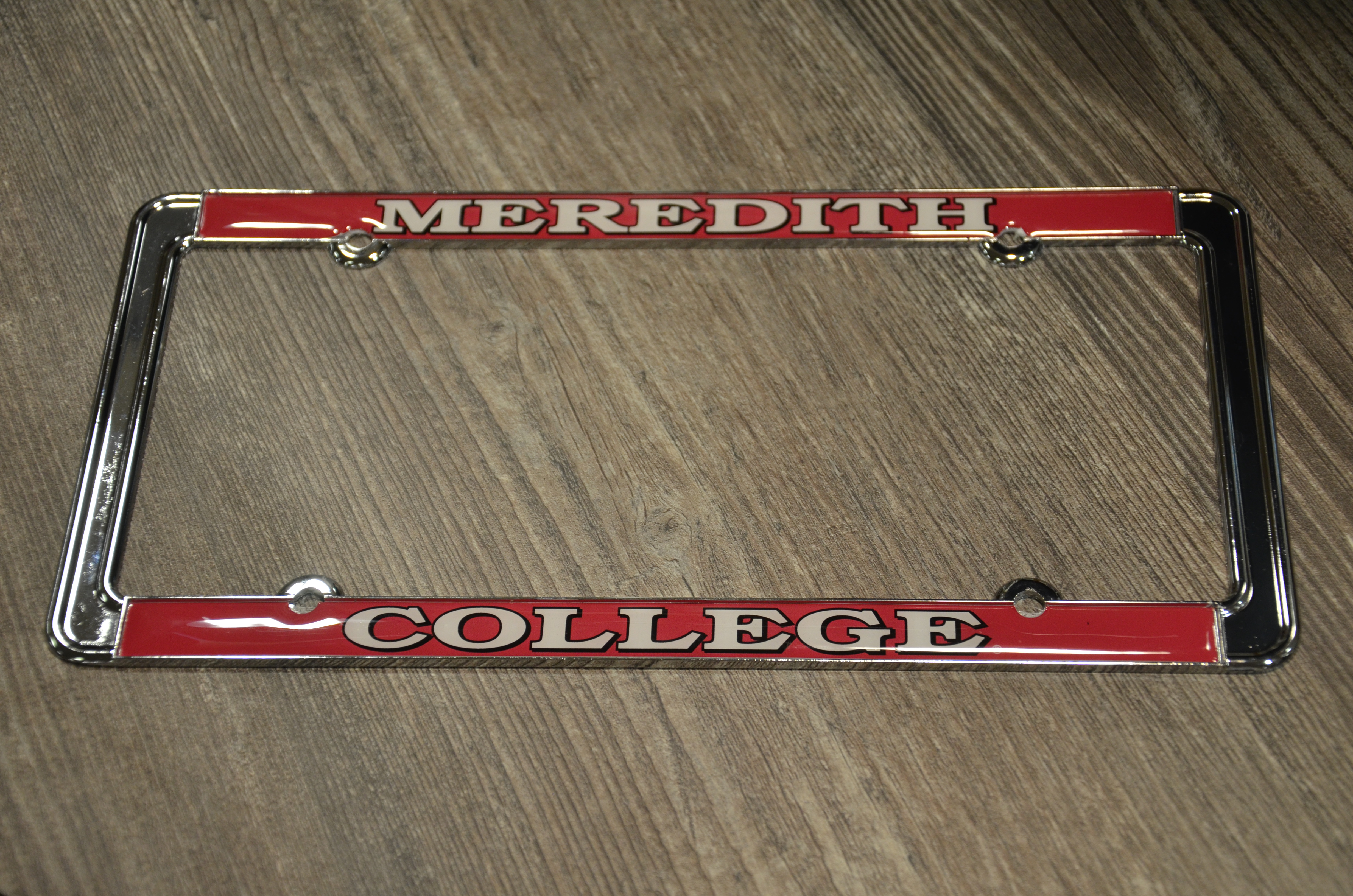 Image for the License Plate Frame, Meredith College product