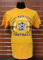 Image for the T-Shirt Gold FHSU Football MV Sport product