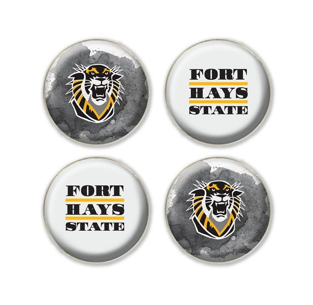 Image for the FHSU Fridge Magnets 4 Pack, L2 product