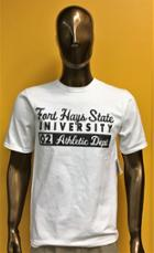 Image for the T-Shirt White FHSU 02 Athletic Dept. Champion product