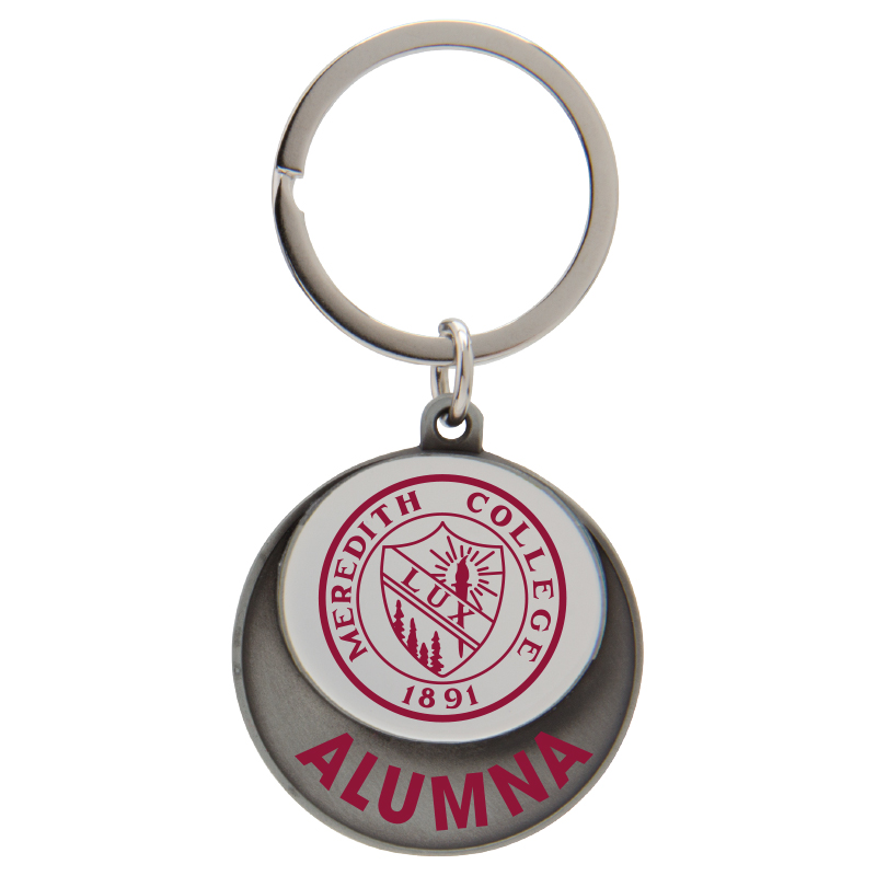 Image for the Keytag White with Seal, Alumna product