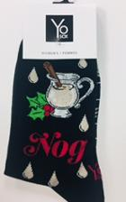 Image for the Holiday Nog - Womens Crew Socks product