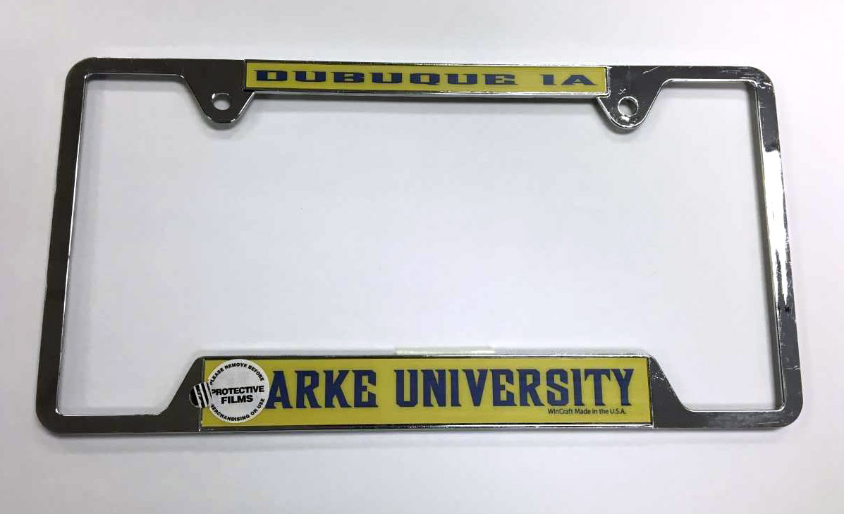 Alternative Image for the License Plate Frames product